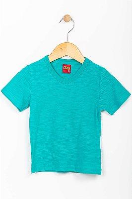 Camiseta infantil manga curta malha flame Kyly