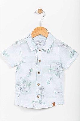 Camisa polo infantil manga curta Alakazoo