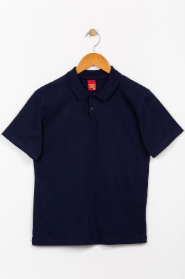 Camisa polo juvenil manga curta kyly