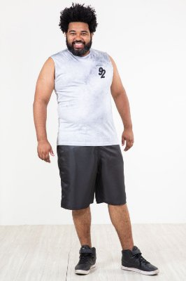 Regata machão plus size