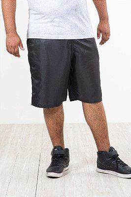 Bermuda elástico cintura plus size