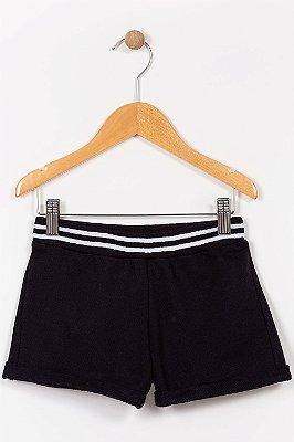 Shorts moletom infantil liso kyly