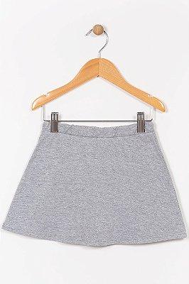 Shorts saia infantil mescla malwee