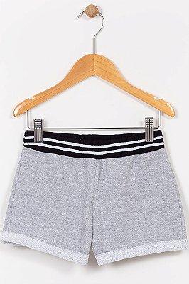 Shorts moletom infantil mescla kyly