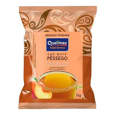 Chá Sabor Pêssego Qualimax com 1kg