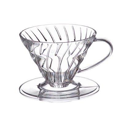 Coador para Café em Acrílico Transparente Hario V60-01
