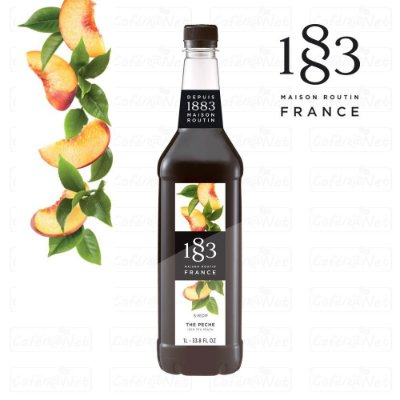 Xarope 1883 Routin de Chá de Pêssego 1 Litro | Iced Tea Peach | The Peche