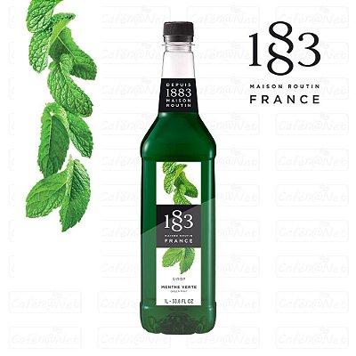 Xarope 1883 Routin de Menta Verde 1 Litro | Green Mint | Menthe Verte