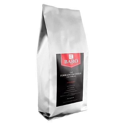 Baro Café Torrado em Grãos para Espresso 1Kg