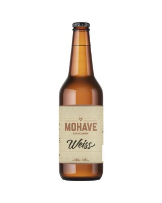 Cerveja Mohave Weiss - 500ml