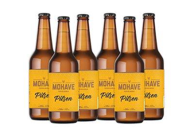 Cerveja Mohave Pilsen - 500ml - 06 un