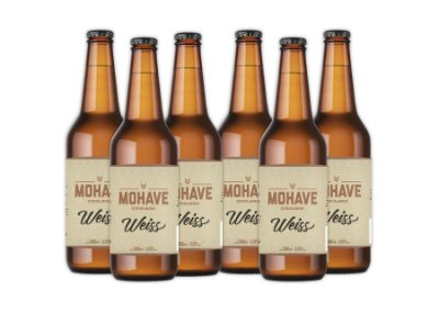 Cerveja Mohave Weiss - 500ml - 06 un