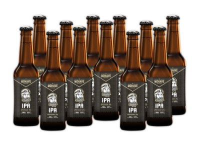 Cerveja Mohave IPA - Long Neck - 355ml - 12 un