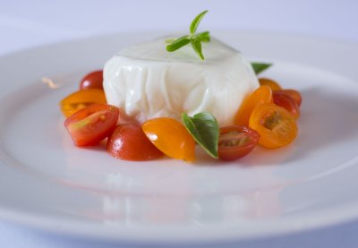 Burrata & Pomodori Colorati