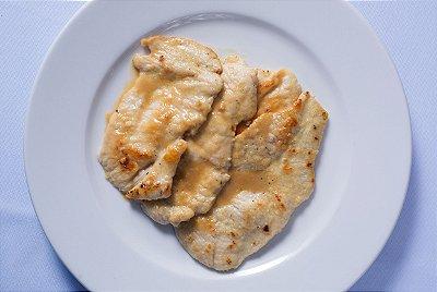 Scallopine Di Pollo Al Limone & Contorni