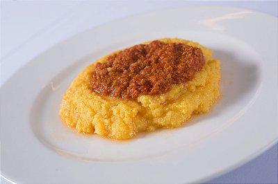 Polenta Al Ragù Di Salsiccia
