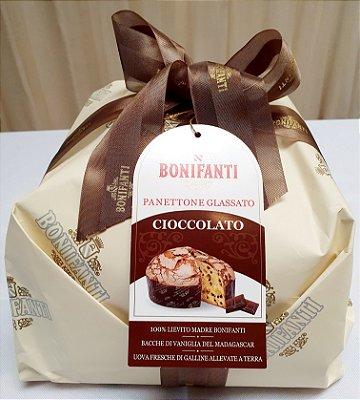 """Panettone Glassato Gocce Cioccolato """" Bonifanti """" • 1 kg"""