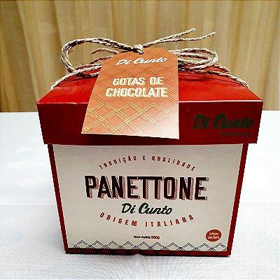 """Panettone Gotas de Chocolate """" Di Cunto """" • 500 gr"""