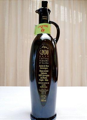 "Azeite Extra Virgem CRUDO Puglia "" Olearia Schiralli "" • 500 ml"
