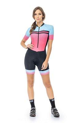 Macaquinho Feminino para Ciclismo Strong life Emanuelly S216-93