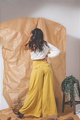 Pantalona em viscolinho