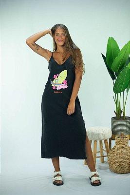 Vestido Caraíva estonado