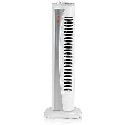 Ventilador Torre 75cm c/Timer Cinza