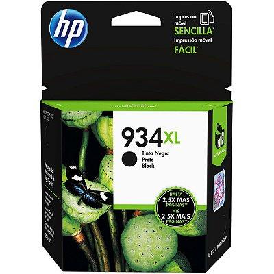 Cartucho de Tinta Original HP934xl HP6230 6280 Preto 25.5ML