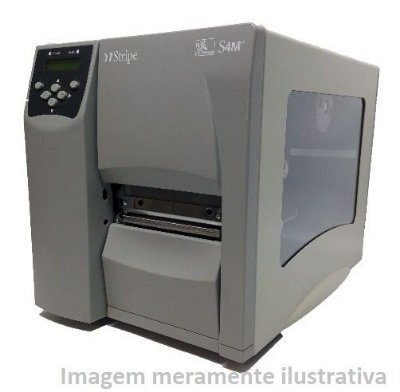 Impressora Térmica Industrial Zebra S4M 203dpi - Serial Usb