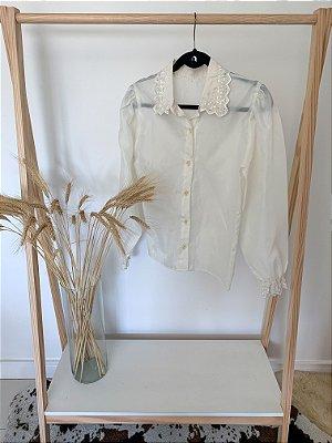 Camisa Bufante Vintage P/M