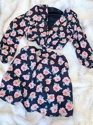 Vestido Rosas Novo G