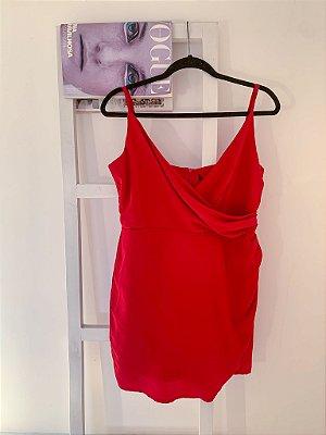 Slip Dress Red Novo G