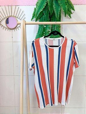 Camiseta Listrada Nova M