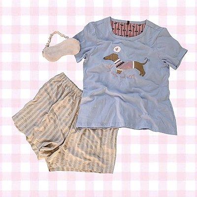 Pijama Dachshund Novo P