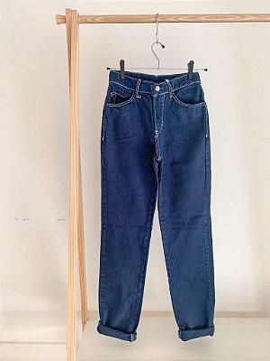 Mom Jeans Vintage Pespontada 34/36