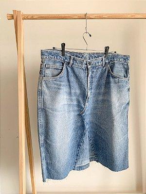 Saia Jeans Midi 50