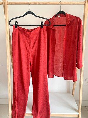Conjunto Vintage Red 40