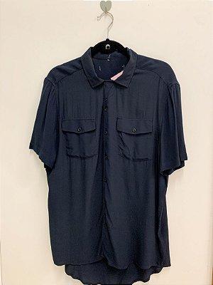 Camisa Crepe de Seda M/G