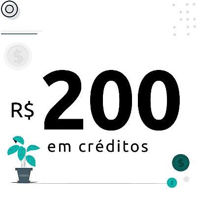 200$ em créditos para emissão de certificados digitais
