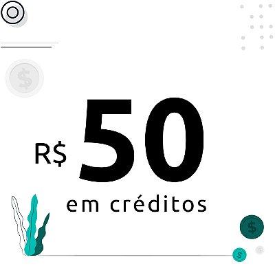 50$ em créditos para emissão de certificados digitais
