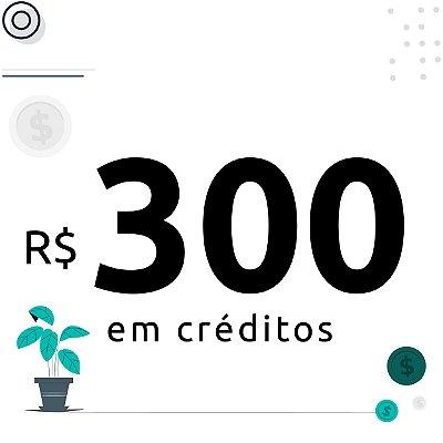300$ em créditos para emissão de certificados digitais