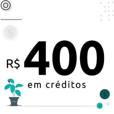 400$ em créditos para emissão de certificados digitais