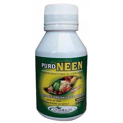 Puro Neem 100 ml - Controle Natural de insetos nas Plantas