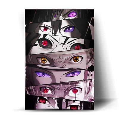 Olhos - Naruto