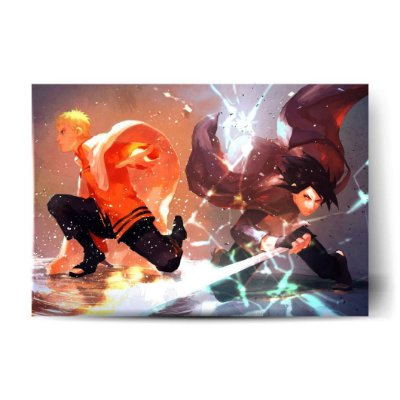 Naruto e Sasuke - Boruto