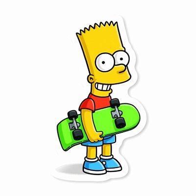 Bart Skate Sticker