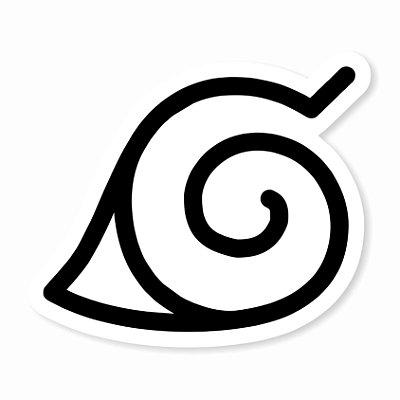 Konoha Sticker