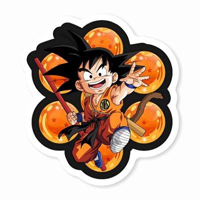 Goku Esferas do Dragão Sticker