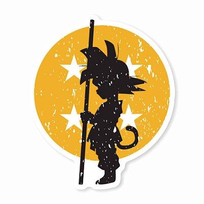 Goku Art Sticker