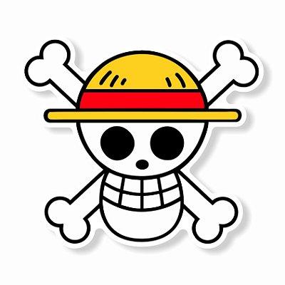 Piratas do Chapéu de Palha Sticker